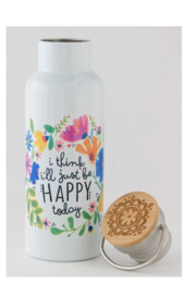 Natural Life Traveler Bottle Happy Today - Product Mini Image