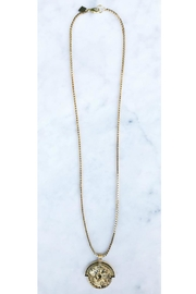 Rope the Moon Traveler Necklace - Front cropped