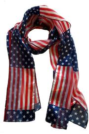 Treasure Island  American Flag Scarf - Product Mini Image