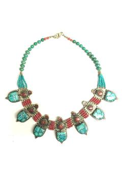 Shoptiques Product: Handcrafted Tibetan Necklace