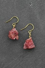 Treasure Rookie Agate Stone Earrings - Product Mini Image