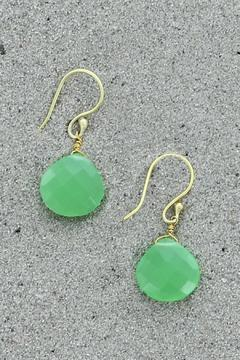 Treasure Rookie Gold Plated Earrings - Product List Image