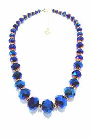 Treasures Hanover Blue Crystal Necklace - Product Mini Image