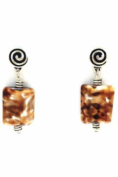Treasures Hanover Brown Agate Earring - Alternate List Image