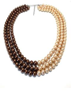 Treasures Hanover Brown Pearl Necklace - Alternate List Image