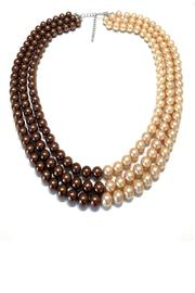 Treasures Hanover Brown Pearl Necklace - Product Mini Image