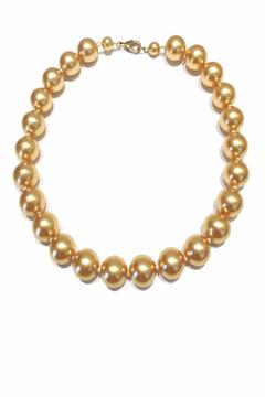 Treasures Hanover Champagne Pearl Necklace - Alternate List Image