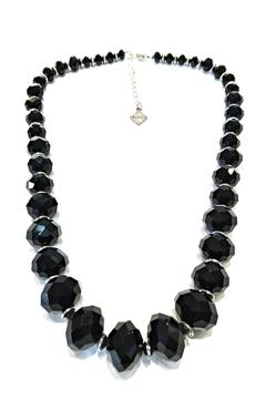Treasures Hanover Black Crystal Necklace - Product List Image