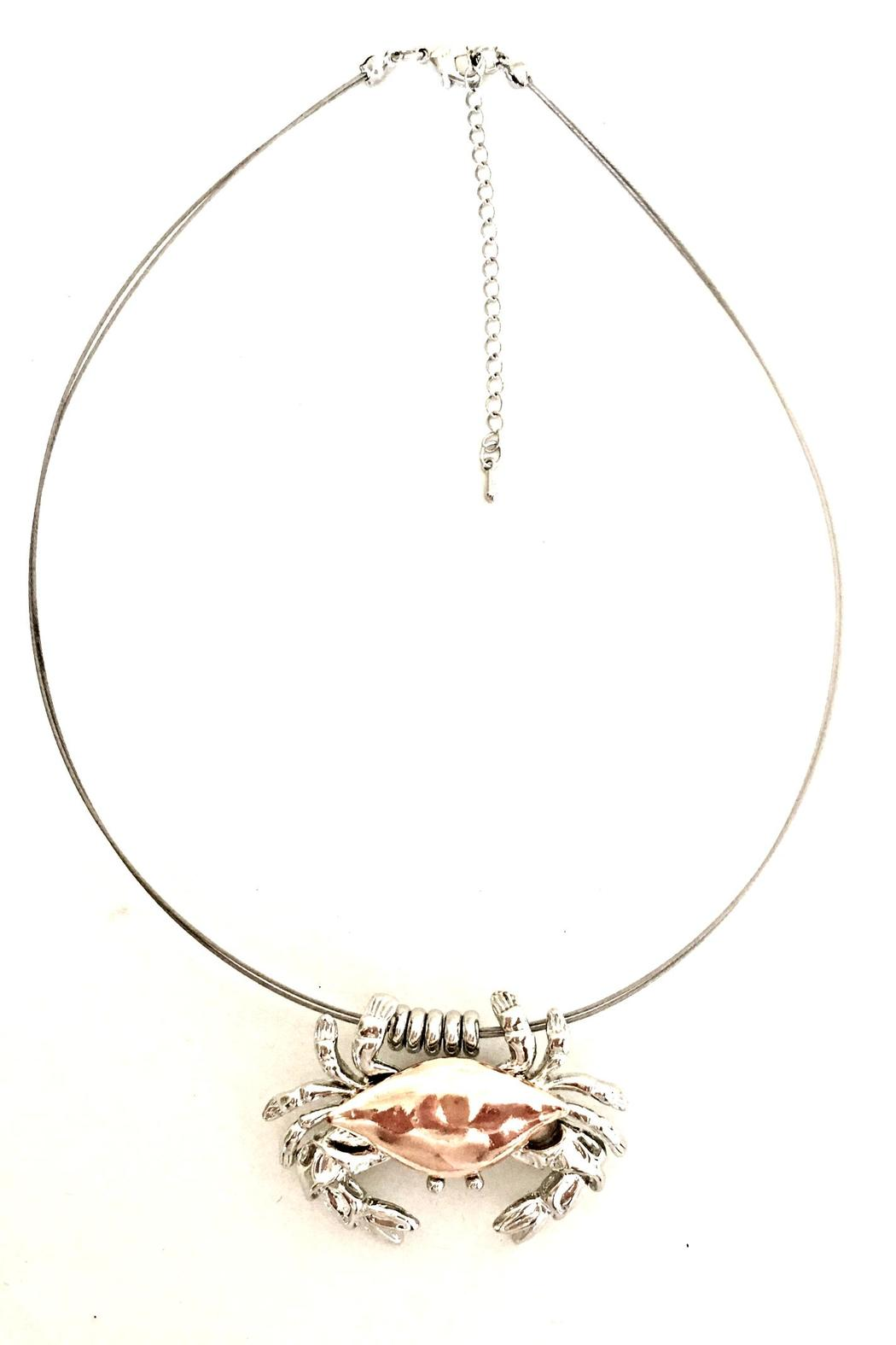 Treasures Hanover Crab Necklace/pin - Main Image