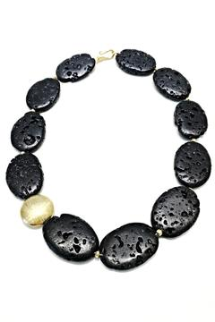 Treasures Hanover Lava Rock Necklace - Alternate List Image