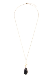 Riah Fashion Tree-Branch-Teardrop Pendant  Necklace - Product Mini Image