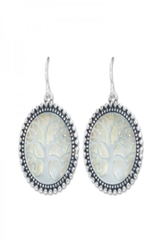 Periwinkle by Barlow Tree of life earrings - Product Mini Image