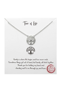 Lets Accessorize Tree-Of-Life Necklace - Alternate List Image