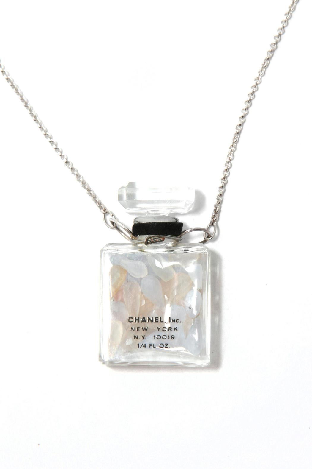 Treehaus Perfume Bottle Necklace - Side Cropped Image