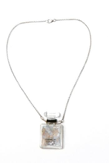 Shoptiques Product: Perfume Bottle Necklace - main