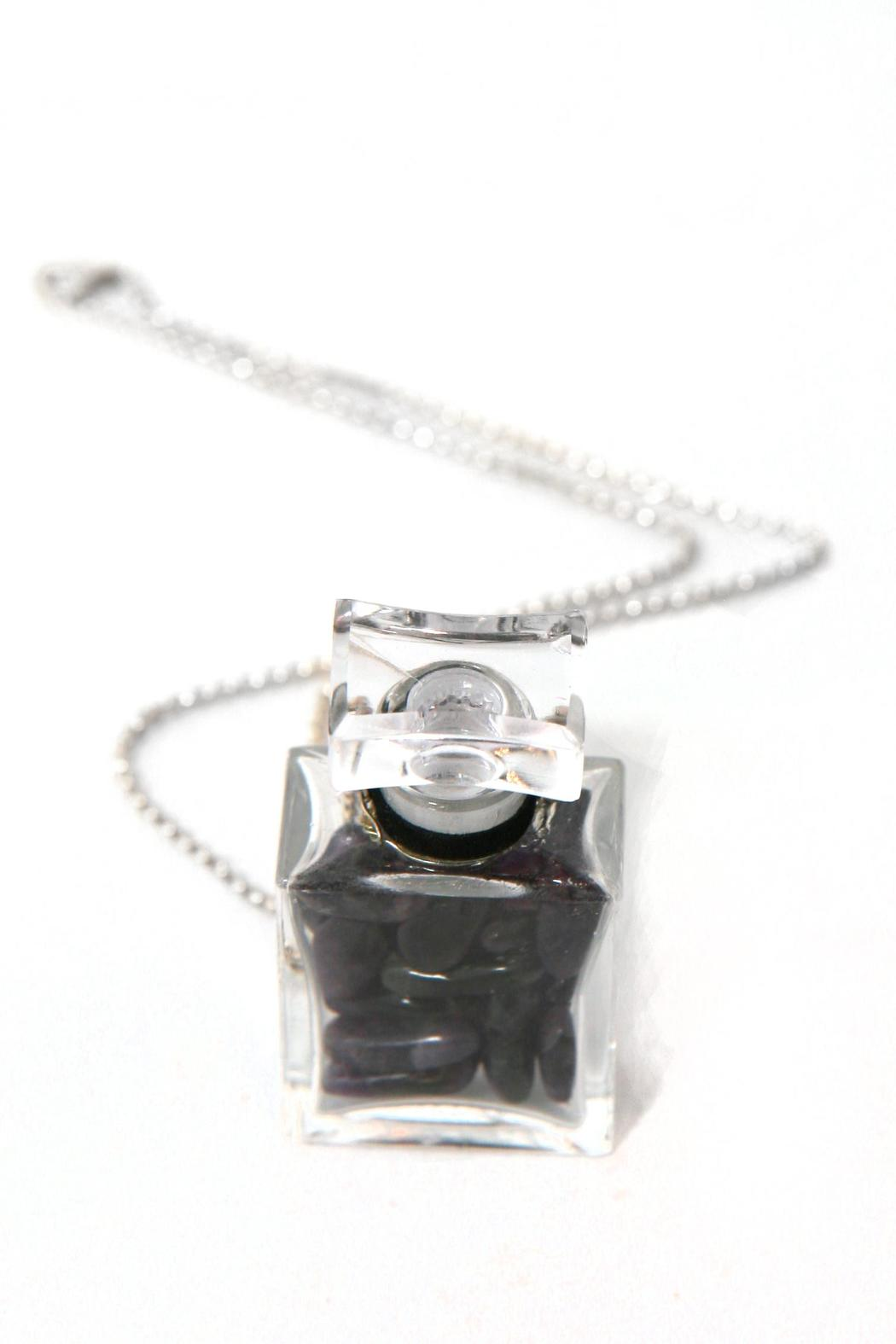 Treehaus Perfume Bottle Necklace - Front Full Image