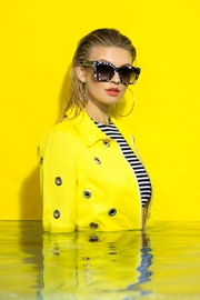 Trelise Cooper Tortise Shell Shades - Back cropped