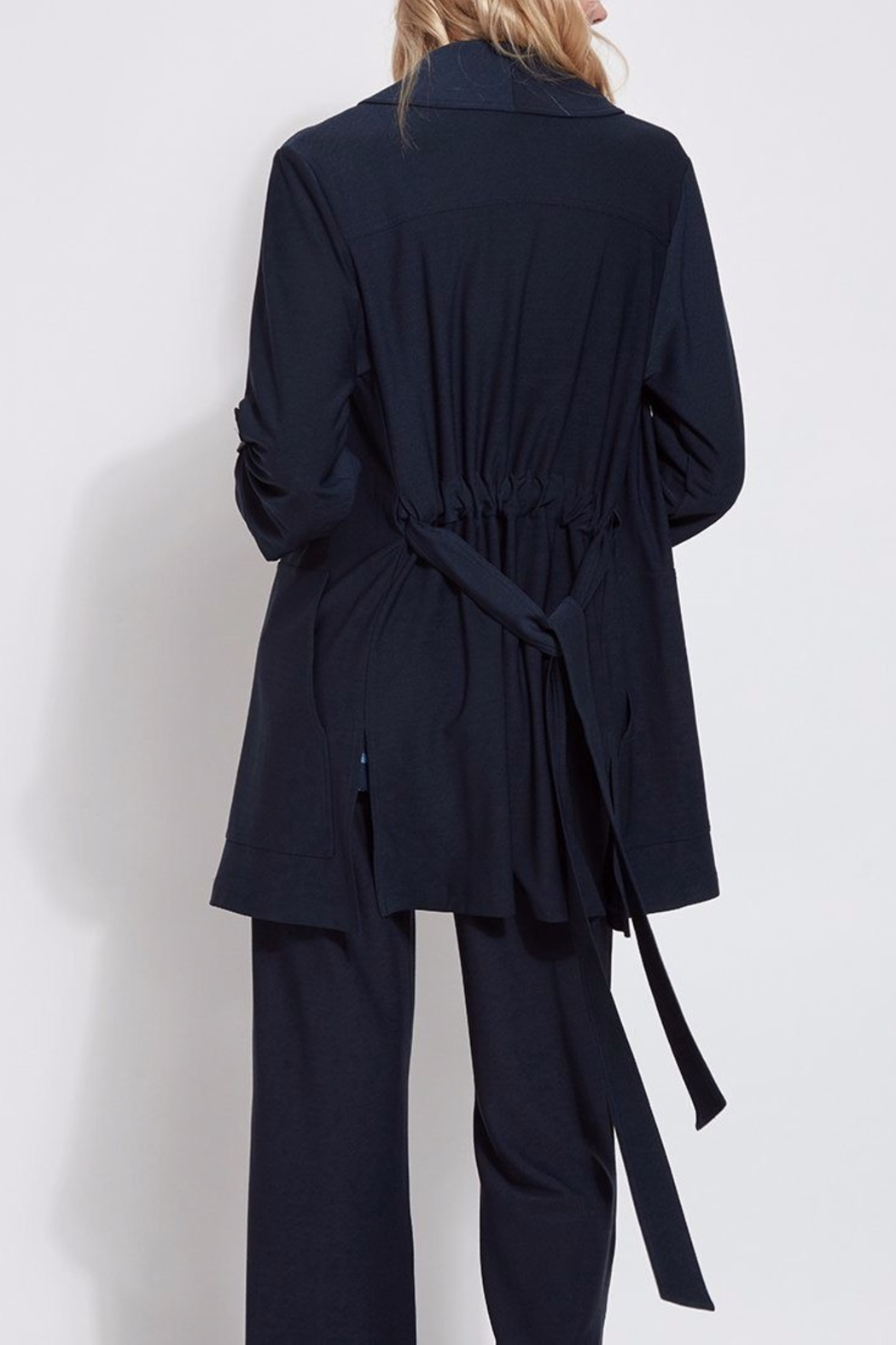 Lysse Trench Coat - Back Cropped Image