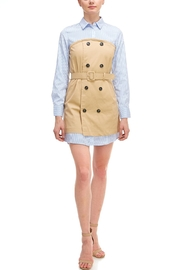 Do & Be Trench Shirt Dress - Product Mini Image