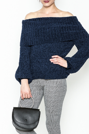 Trend:notes Chenille Crop Sweater - Product Mini Image