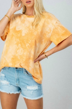 Trend:notes Elaina Tie-Dye Top - Product List Image
