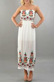Trend:notes Embroidered Maxi Dress - Product Mini Image
