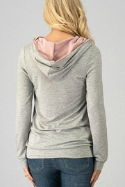 Trend:notes French-Terry Hoodie Top - Front full body