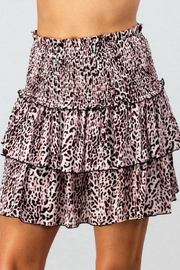 Trend:notes Leopard Ruffle Mini - Front cropped