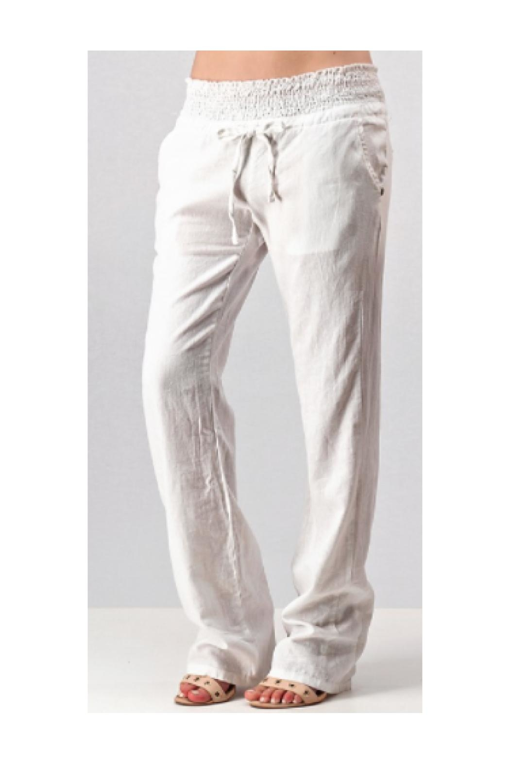 Trend:notes Linen Pants - Main Image