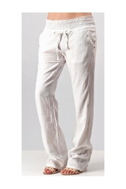 Trend:notes Linen Pants - Front cropped