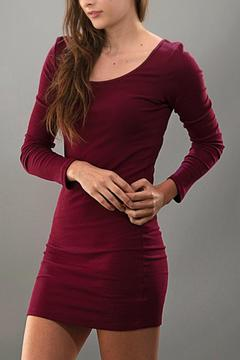 Trend:notes Long Sleeve Mini Dress - Product List Image