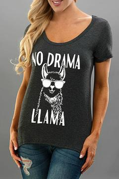 Trend:notes No Drama Tee - Product List Image