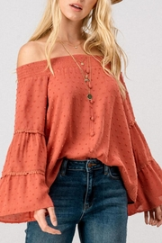 Trend:notes Off Shoulder Blouse - Product Mini Image