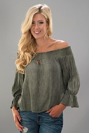 Trend:notes Off Shoulder Top - Product Mini Image
