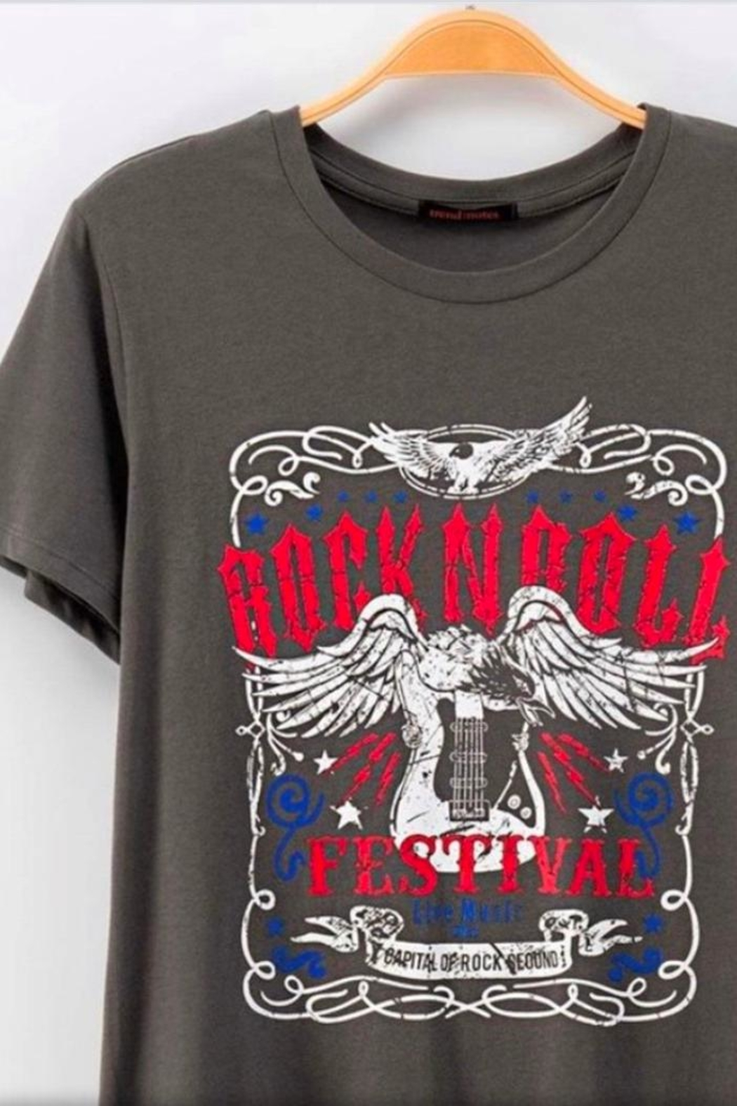 Trend:notes Rock Graphic Tee - Main Image