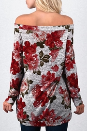 Trend:notes Roses Off Shoulder - Front full body