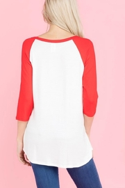 Trend:notes Sequins Heart Top - Front full body