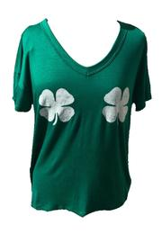 Trend:notes Shamrock Twinsies Tee - Product Mini Image