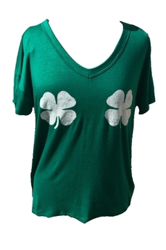 Trend:notes Shamrock Twinsies Tee - Product List Image