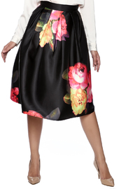 Trend:notes Midi Satin Skirt - Product Mini Image