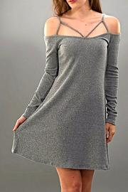 Trend:notes Strappy Sweater Dress - Product Mini Image