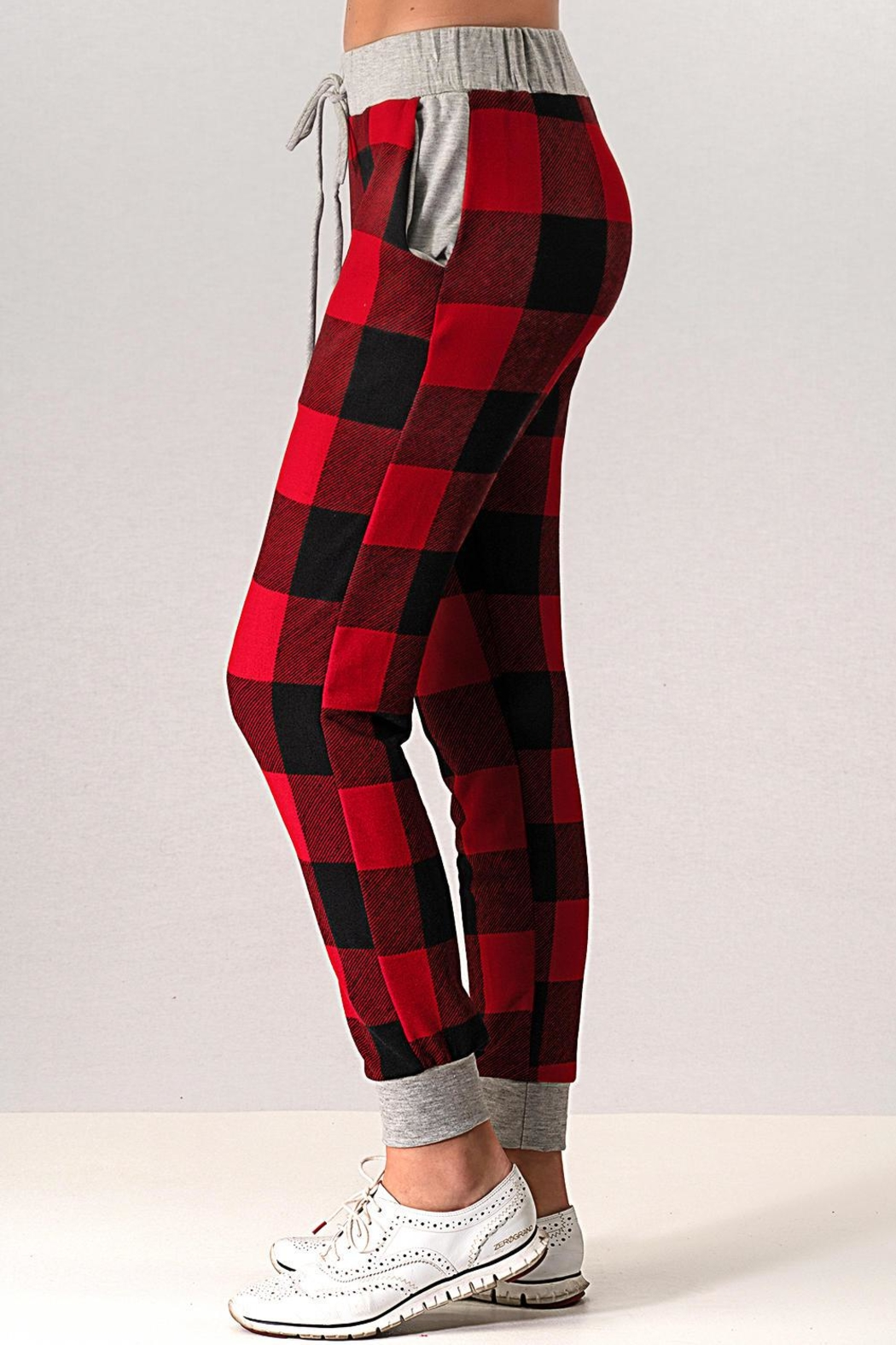 Trend:notes Sweater Lounge Pants - Back Cropped Image