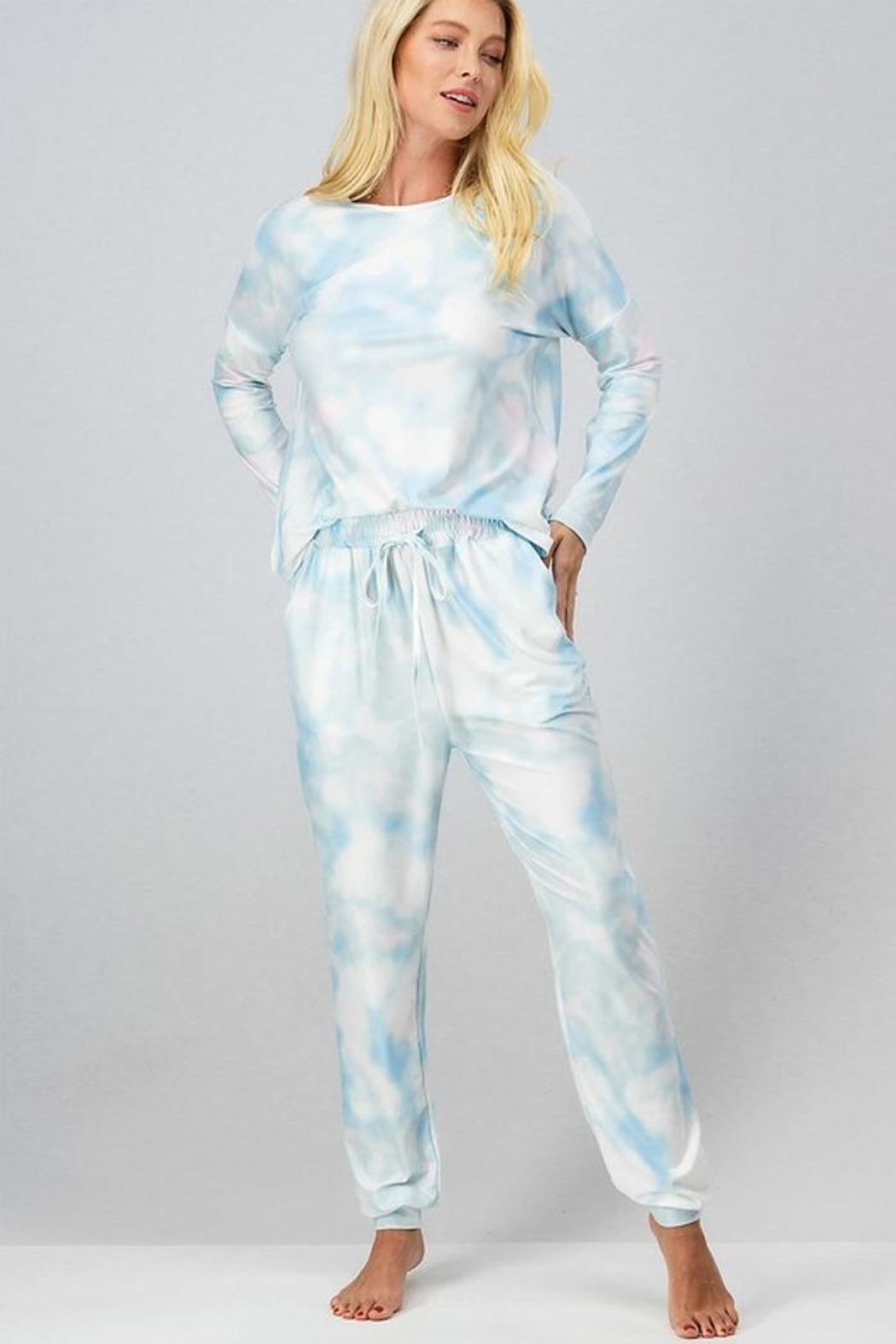 Trend:notes Tied Dye Jogger Set - Main Image