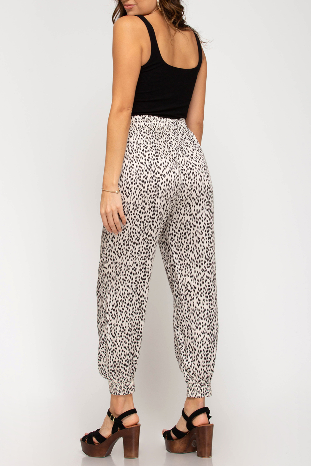 She and Sky Trend Setter pants - Front Full Image