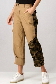 trend notes Camo Cargo Pants - Product Mini Image
