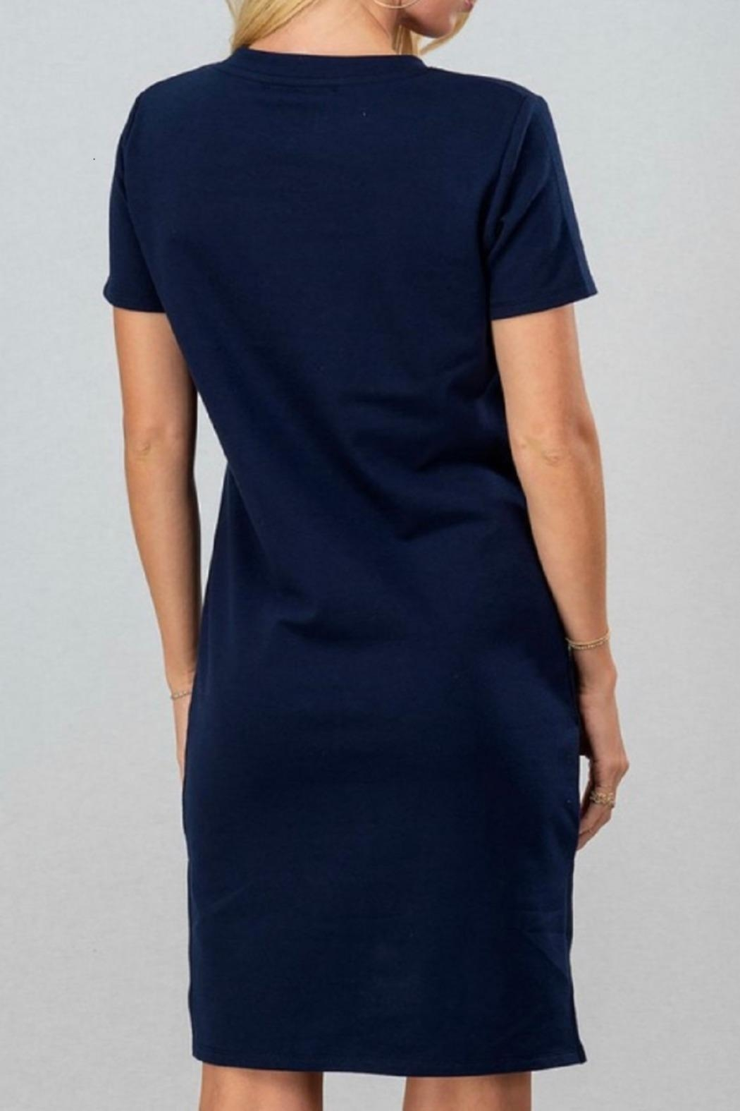 trend notes Casual Tee Dress - Front Full Image