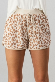 trend notes Leopard Track Shorts - Product Mini Image