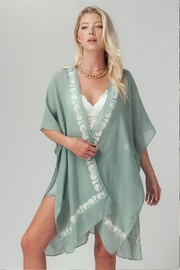 trend notes Paisley Print Kimono - Product Mini Image