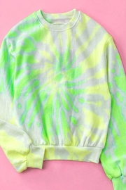 trend notes Tie Dye Sweater - Product Mini Image
