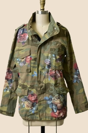 Trend Shop Camo Floral Jacket - Product Mini Image